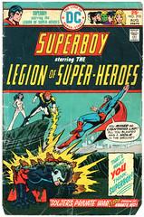 Legion of Super-Heroes 210 (Todd Wilson) Tags: comics superboy lsh legionofsuperheroes legionaires mikegrell