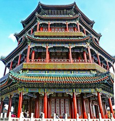Summer Palace tower I (Daniel Schwabe) Tags: china tower beijing summerpalace bej lptowers