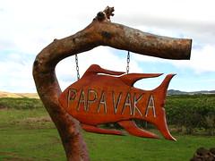 Sign (Sparky the Neon Cat) Tags: world chile heritage southamerica sign america easter de island polynesia valparaiso site south pascua unesco papa isla nui rapa vaka