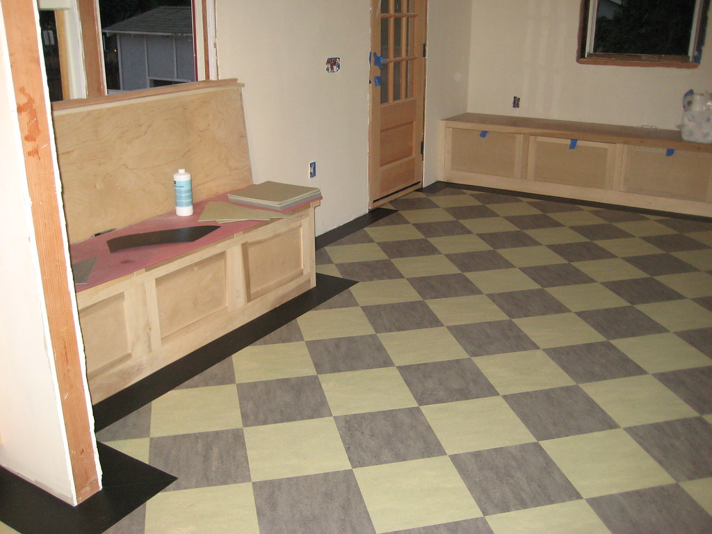 Linoleum Kitchen Floor