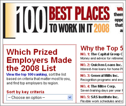 Computerworld picks Quicken Loans as the #2 place to work in IT
