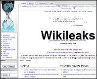 La web Wikileaks