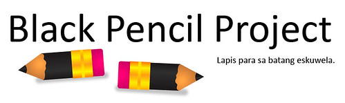Black Pencil Project - Lapis Para Sa Batang Eskuwela