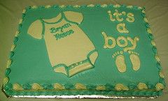 Its A Boy Onesie Cake