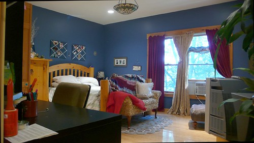 Children's room interior with natural themes