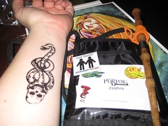 My Dark Mark and my badge stuff