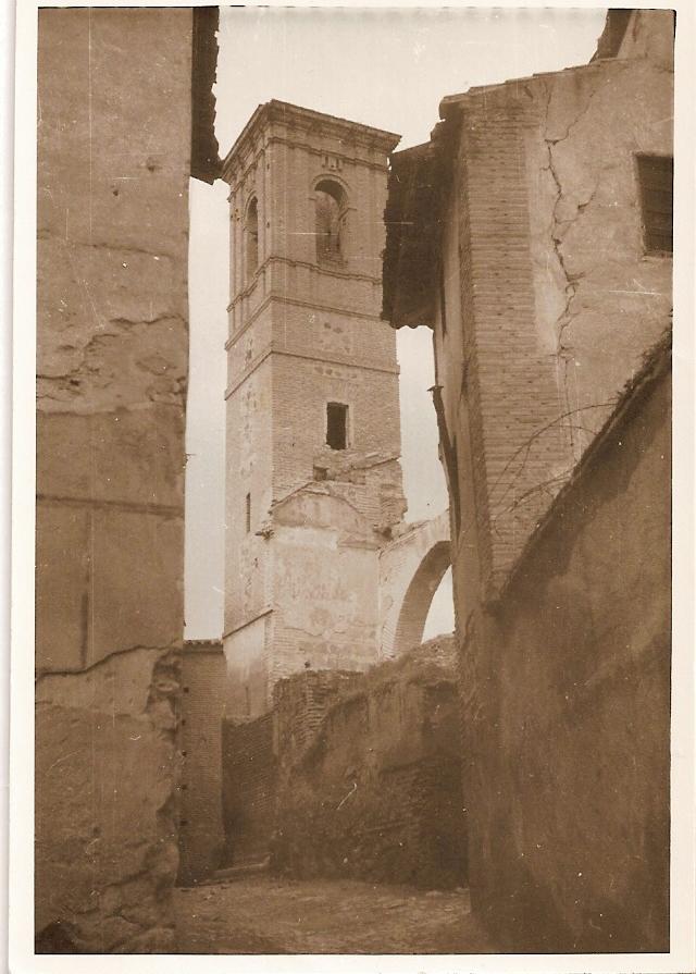 Iglesia de San Lorenzo, años 50. Fotografía de Eduardo Butragueño Bueno