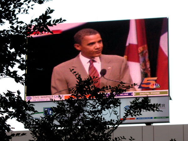 Obama @Fountain Square