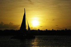 Returning... (Lazyousuf) Tags: sunset florida keywest sihouette