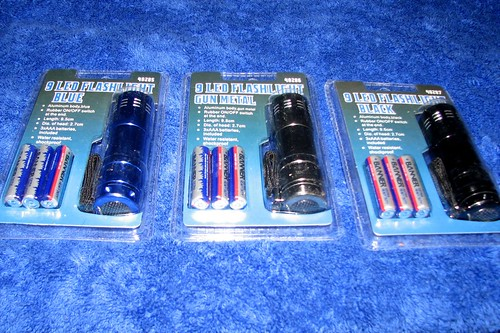Flashlight Packaging Front