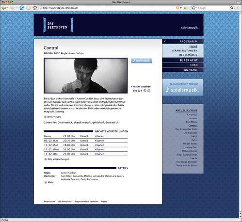 Website â?? Detailansicht Film