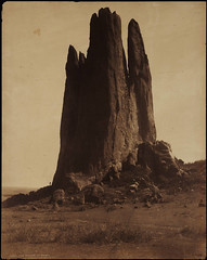 [No. 1007. View of a s&stone rock formation ...