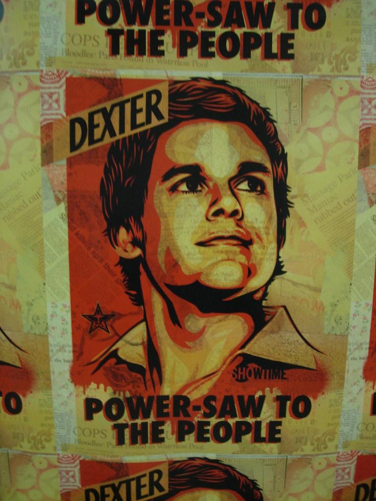 Dexter Art/ Shepard Fairey