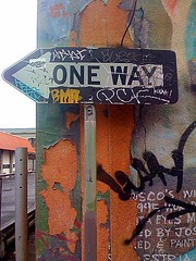 Way (Tom Verre) Tags: sf old sign graffiti mural painted weathered iphone freakaccidentnet