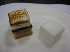 French Culinary Institute: S'mores petit four and Rose champagne marshmallow