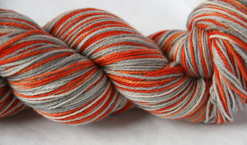 San Francisco Self Striping Sock Yarn Postcard