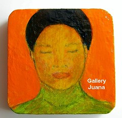 Remembering the 70's wooden Pendant by Gallery Juana