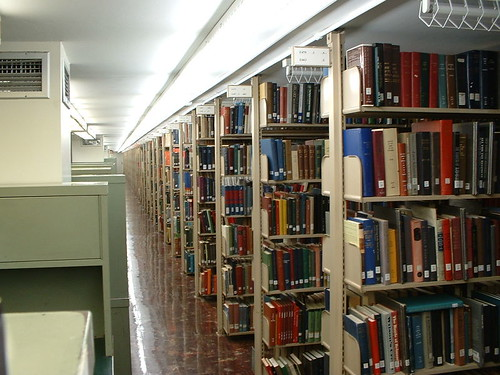 Pattee Library stacks at Penn State