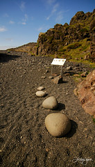 Stones that will test your strength (helgae) Tags: nature iceland travels snfellsnes