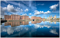 The Albert Dock (Max/) Tags: liverpool photoshop reflections river