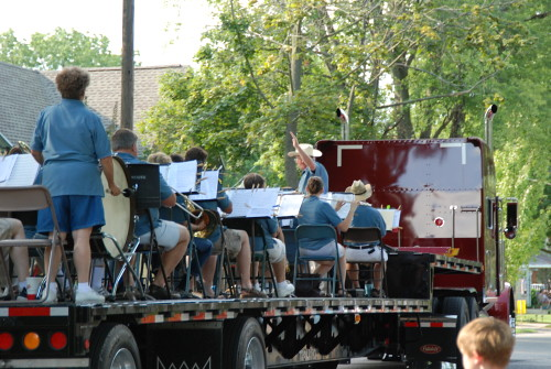 Manchester Civic Band at Fun Fest Parade 2008