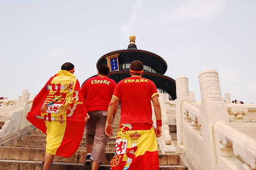 We conquered the Temple of Heaven