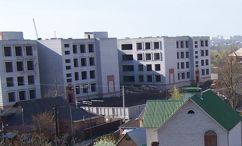 New School 16 under construction in April of 2007