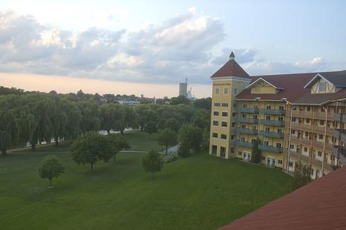 bavarian inn (from our balcony)