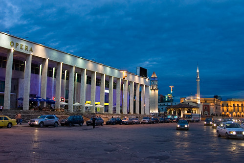 Main Square of Tirana, Albania