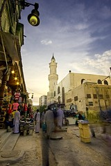 Ghost Market (Khaled A.K) Tags: photography long exposure market mosque ghosts jeddah saudiarabia khaled ksa alawi saudia       kashkari