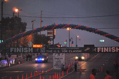 10k 11-finish line