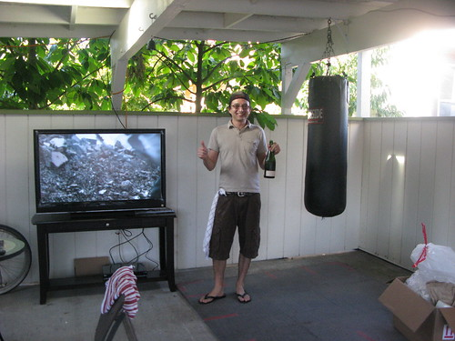 tv or boxing?