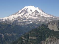 Rainier from Shriner Peak lookout.