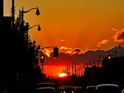Sunset - Image: Flickr.com Bob Katayama