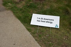 1 in 25 Americans has food allergy