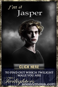 I'm a Jasper! I found out through TwilightersAnonymous.com. Which Twilight Male Are You? Take the quiz and find out!