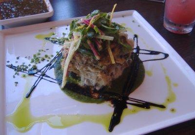 La Sirena Grill and Cantina - Wild Mushroom Chilaquiles