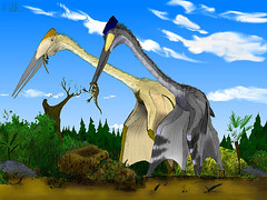 Quetzalcoatlus by Mark Witton