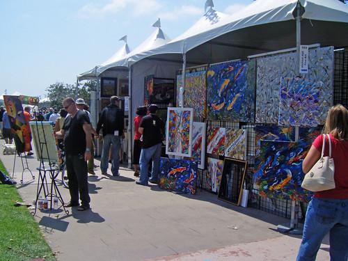 ArtWalk On the Bay 2008 - Embarcadero San Diego