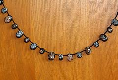 Kaleidoscope cane necklace