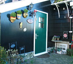 marken door (makool loves you) Tags: holland netherlands marken