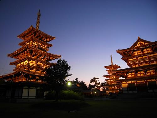 薬師寺(万燈会・夜)-05