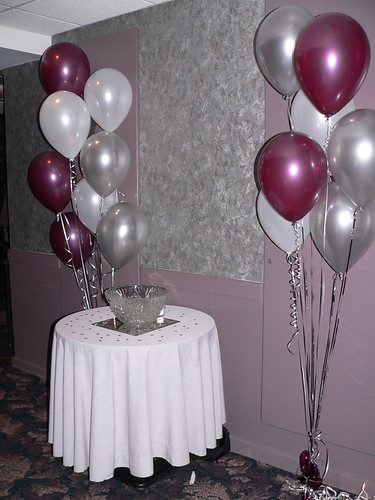 40th Birthday Party Centerpieces. I found 40th anniversary ruby
