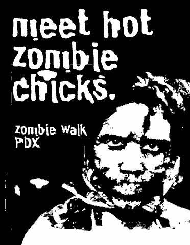 zombie walk portland