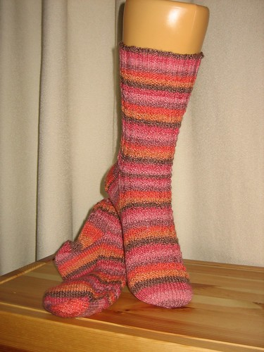 Socktober Harris Tweed Socks in Melienweit Cotton Spirit