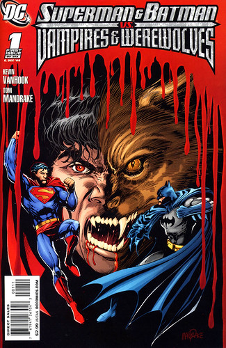 Superman Batmqn Vampires Werewolves (by senses working overtime)