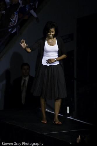 Michelle Obama's Entrance