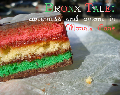 Bronx Tale: Sweetness in Morris Park