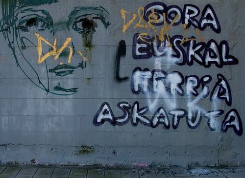 Pintada libertaria por Soniko.