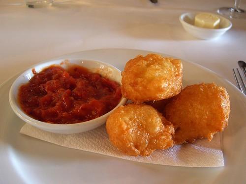 cheese french restaurant puff bistro souffle fried kyneton anniesmithersbistro theagegoodfoodguide2009 onechefhat